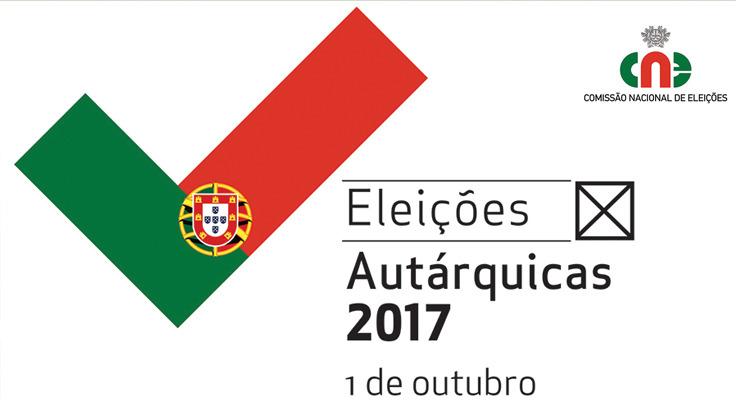 Resultado de imagem para CNE autarquicas 2017